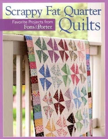 Scrappy Fat Quarter Quilts (Book) preview
