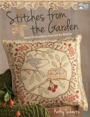 Stitches from the Garden by Kathy Schmitz (Book) preview