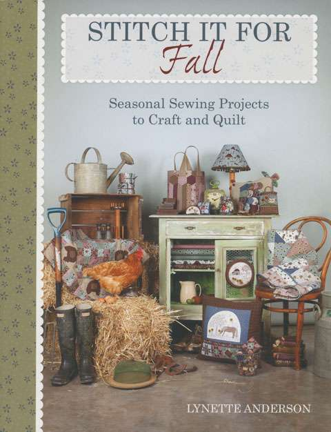 Stitch It For Fall by Lynette Anderson (Book)