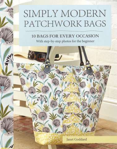 Simply Modern Patchwork Bags by Janet Goddard (Book)