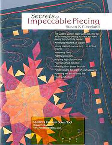 Secrets of Impeccable Piecing by Susan K Cleveland (Book)
