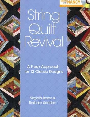 String Quilt Revival by V. Baker & B. Sanders (Book)