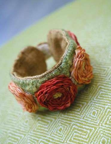 The Art of Felting & Silk Ribbon Embroidery by Di van Niekerk preview