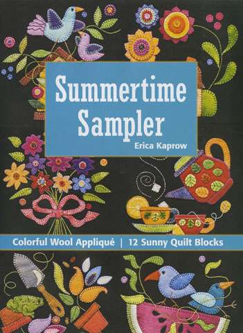 Summertime Sampler by Erica Kaprow (Book) preview