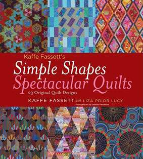Kaffe Fassett's Simple Shapes, Spectacular Quilts (Book) preview