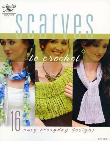 Scarves to Crochet - Annie's Attic (Book)