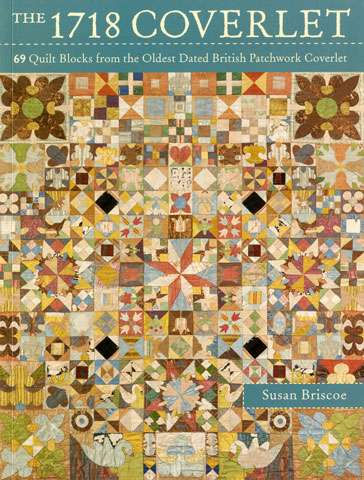 The 1718 Coverlet by Susan Briscoe (Book)