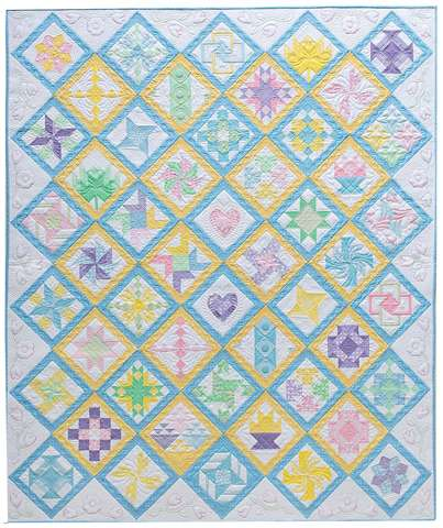 The Anniversary Sampler Quilt by Donna Lynn Thomas (Book) preview
