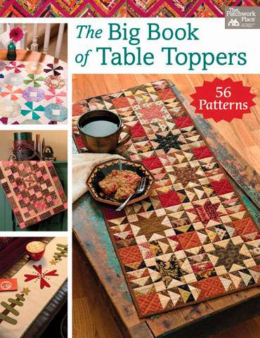 The Big Book of Table Toppers - That Patchwork Place (Book)