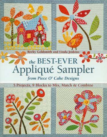 The Best Ever Applique Sampler (Book) preview