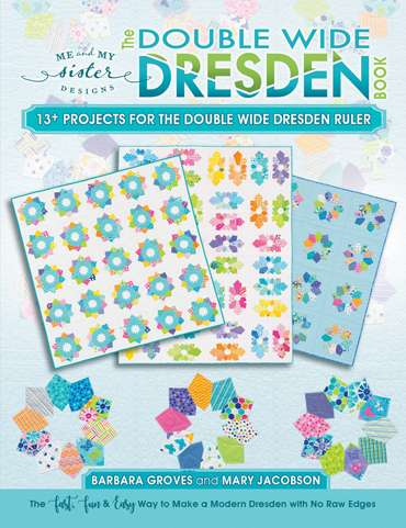 The Double Wide Dresden Book by Me and My Sister Designs preview