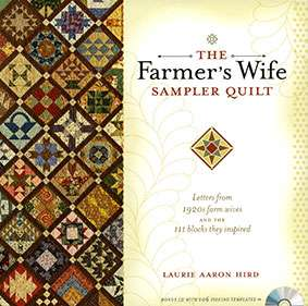 The Farmer's Wife Sampler Quilt by Laurie Aaron Hird (Book)