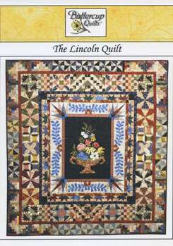The Lincoln Quilt - Buttercup Quilts (Book)