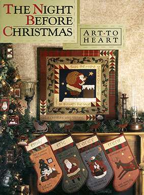 The Night Before Christmas - Art To Heart (Book) preview
