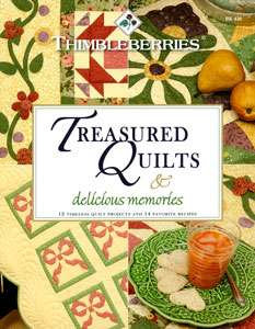 Treasured Quilts & Delicious Memories (Book)