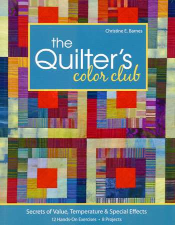 The Quilter's Color Club by Christine E Barnes (Book)