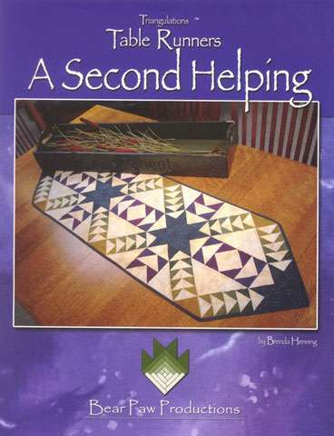 Table Runner - A Second Helping by Brenda Henning (Book)