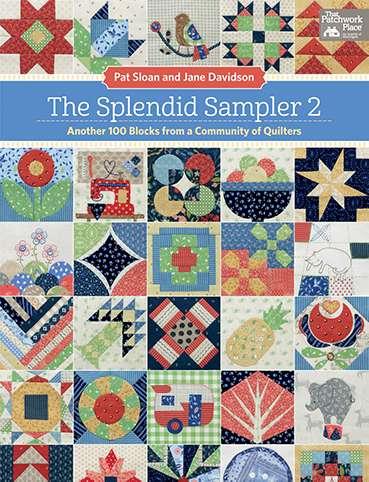The Splendid Sampler 2 by Pat Sloan & Jane Davidson (Book) preview