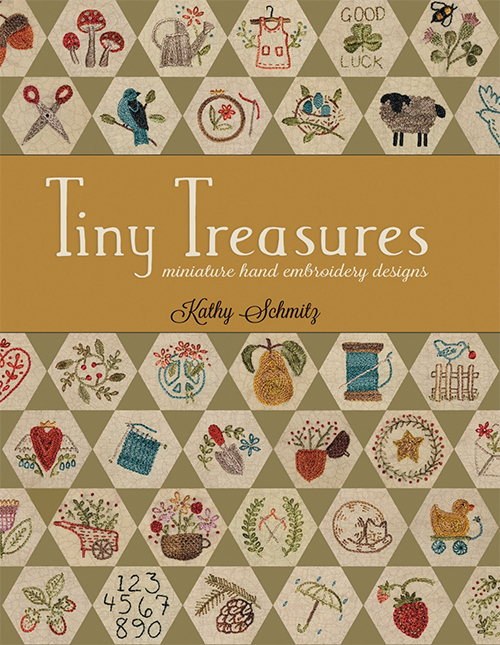 Tiny Treasures Miniature Hand Embroidery Designs by Kathy Schmitz preview