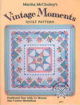 Vintage Moments by Marsha McCloskey (Book)