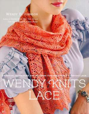 Wendy Knits Lace by Wendy D. Johnson (Book)