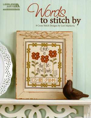 Words to Stitch by Lori Markovic (Book)