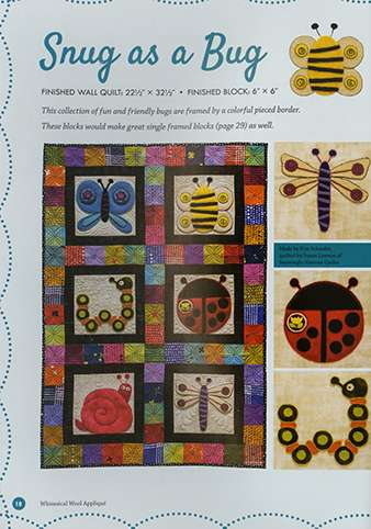 Whimsical Wool Appliqué by Kim Schaefer (Book) preview