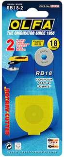 18mm Olfa Rotary Blade (2 per pack)