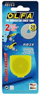28mm Olfa Rotary Blade (2 per pack)
