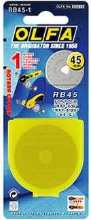 45mm Olfa Rotary Blade (1 per pack)