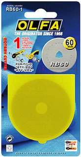 60mm Olfa Rotary Blade (1 per pack)