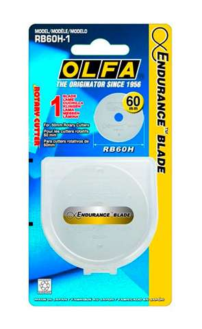 Olfa 60mm Endurance Rotary Blade preview