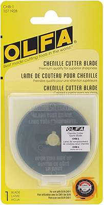Olfa Chenille Cutter Replacement Blade (60 mm) preview