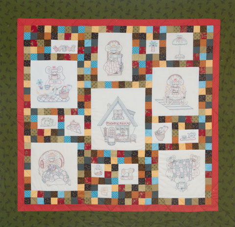 Quilting Mouse Stitchery preview