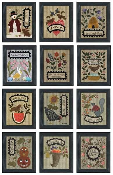 Bonnie's Seasonal Pattern Club