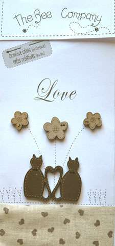 Love Cats - Wooden Buttons