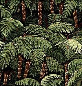 C706 Punga trees on black