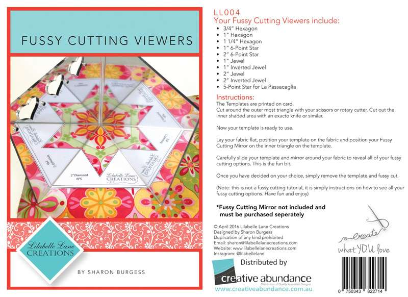 Fussy Cutting Viewers