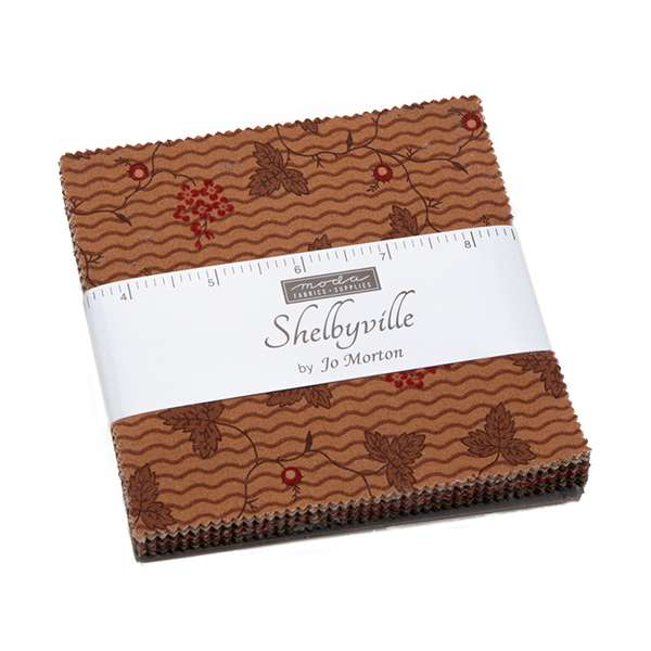 """Jo Morton - Shelbyville Charm Pack 5"""" Squares preview"""