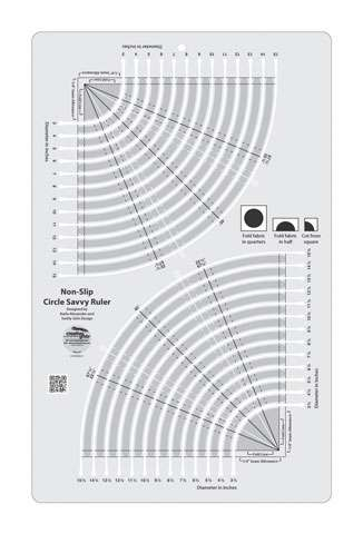 Creative Grids Circle Savvy Ruler preview