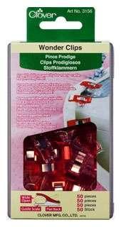 Clover Wonder Clips (50 per pack)