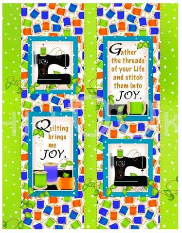 Quilting Brings Me Joy Microfiber Cleaning Cloth