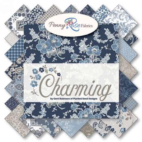 "Charming (Penny Rose Fabrics) - 10"" Squares (Layer Cake)"