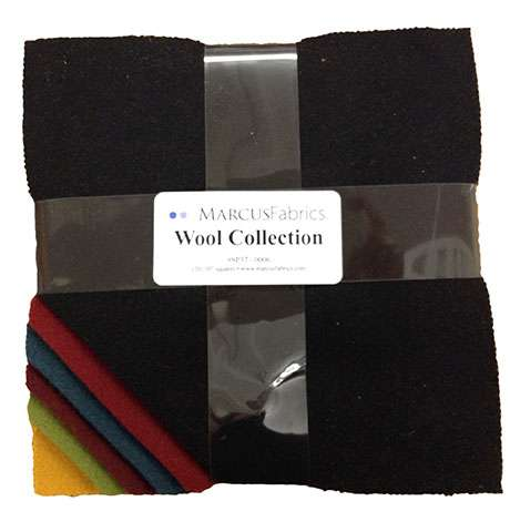 "Marcus Fabrics Wool Collection - 10"" Squares (20 pieces)"
