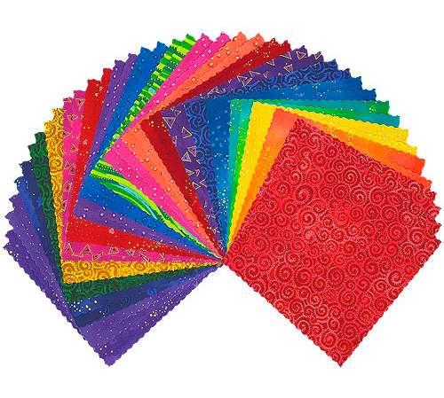 """Laurel Burch - Prism - 5"""" Squares preview"""