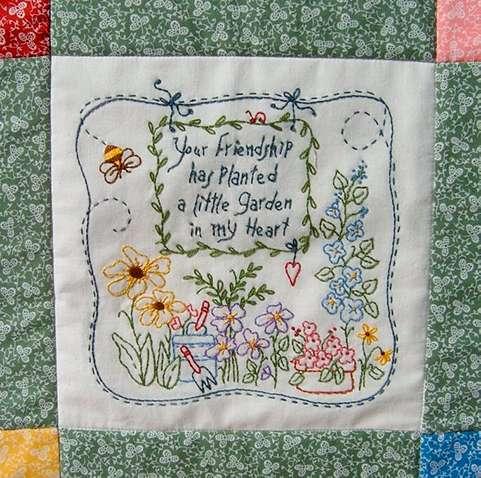 Friendship Garden Quilt preview