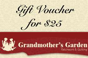 Grandmother's Garden Gift Voucher $25