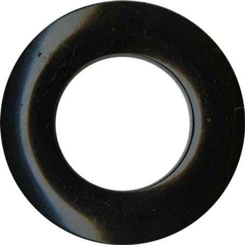 Grommets 25mm (matte black) - 8 per packet