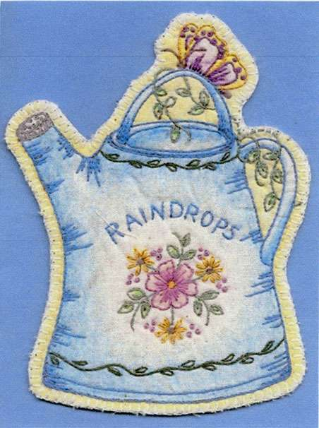 Heirloom Ornament #8 - Raindrops