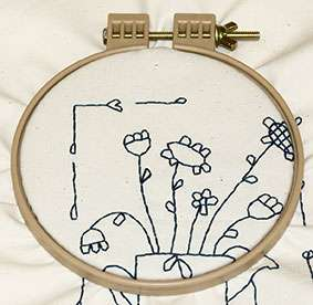 7 Inch No Slip Embroidery Hoop